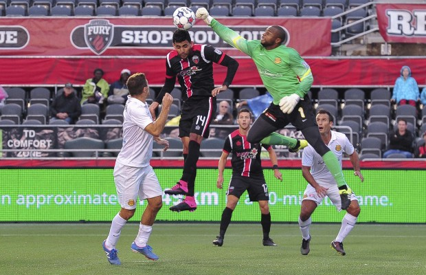 Soccer: NASL Fort Launderdale Strikers at Ottawa Fury